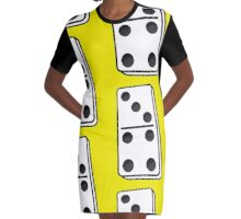 Domino! Graphic T-Shirt Dress