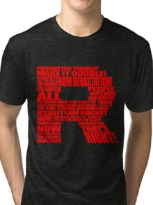 Team Rocket Logo Tri-blend T-Shirt