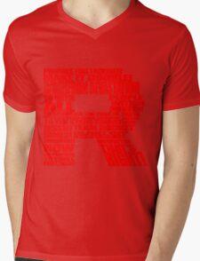 Team Rocket Logo Mens V-Neck T-Shirt