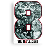 -TARANTINO- The Hateful Eight Metal Print