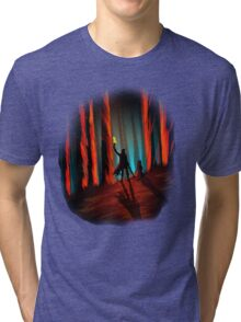 The Night is Dark and Full of Terrors Tri-blend T-Shirt