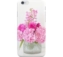 Pink bouquet iPhone Case/Skin