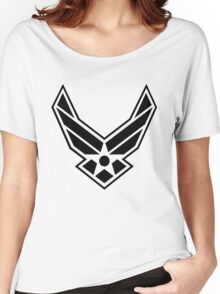 United States USAF - US Air Force Wings Women's Relaxed Fit T-Shirt