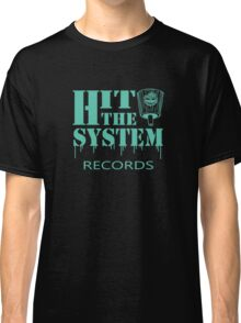 Hit The System - Teal  Classic T-Shirt