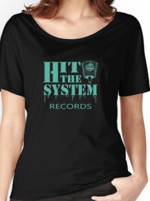 Hit The System - Teal  Women's Relaxed Fit T-Shirt
