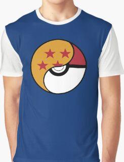 -GEEK- Pokemon X DBZ Graphic T-Shirt