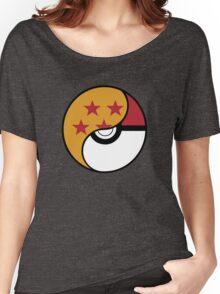 -GEEK- Pokemon X DBZ Women's Relaxed Fit T-Shirt