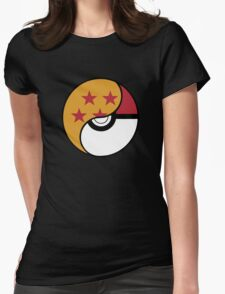 -GEEK- Pokemon X DBZ Womens Fitted T-Shirt