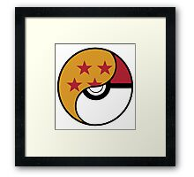 -GEEK- Pokemon X DBZ Framed Print