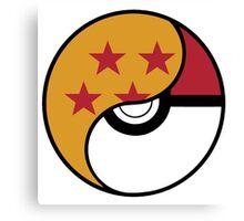 -GEEK- Pokemon X DBZ Canvas Print
