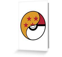 -GEEK- Pokemon X DBZ Greeting Card