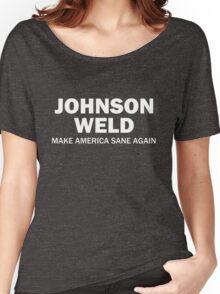 Make America Sane Again - Johnson/Weld Women's Relaxed Fit T-Shirt