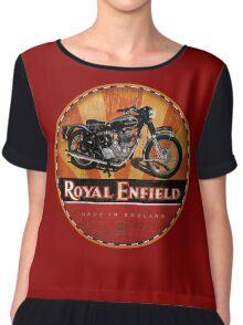 Royal Enfield Vintage Motorcycles UK INDIA Chiffon Top