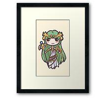 Kid Icarus- Palutena Chibi Framed Print