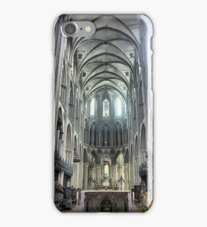 The Bayeux Cathedral ( 7 ) iPhone Case/Skin