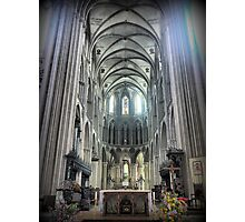 The Bayeux Cathedral ( 7 ) Photographic Print