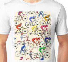Bicycle race Unisex T-Shirt