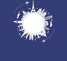 Arround the World No.2 (white) Unisex T-Shirt