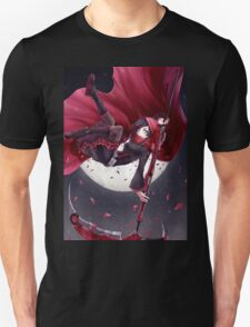 Red Rider Rose Unisex T-Shirt