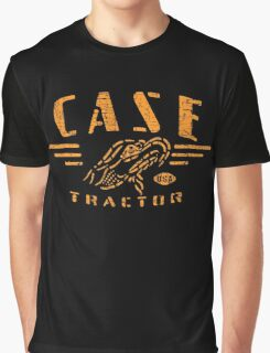 Vintage Case Tractor Eagle Graphic T-Shirt