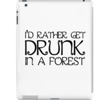 Drinking Nature Random Quote Cool Peace iPad Case/Skin