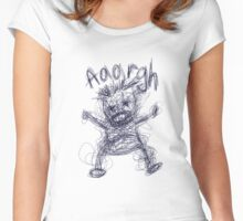 Aaaaargh! Women's Fitted Scoop T-Shirt