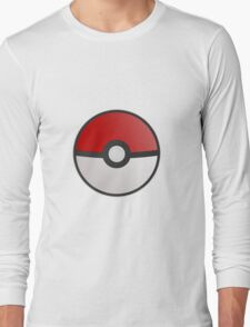 Pokemon Pokeball Long Sleeve T-Shirt