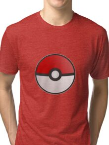 Pokemon Pokeball Tri-blend T-Shirt