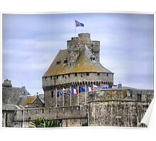 The St.Malo Wall.. ( 7 ) Poster