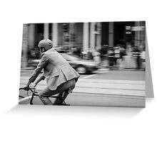 In Melbourne, We Ride! Greeting Card