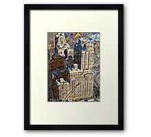 New York Art Deco Framed Print