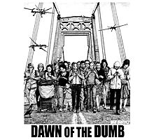 Dawn of the Dumb Photographic Print
