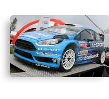Ford Fiesta ST WRC Canvas Print