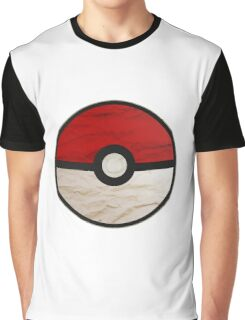 Pokeball vs Pokemon Graphic T-Shirt