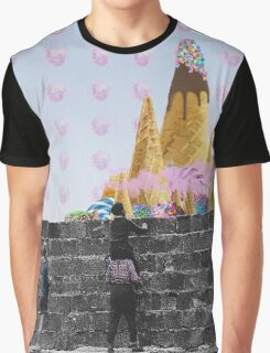 Charlie and the candy mountain. Graphic T-Shirt