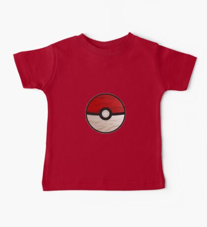 Pokeball vs Pokemon Baby Tee