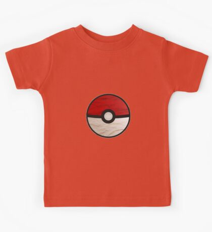 Pokeball vs Pokemon Kids Tee