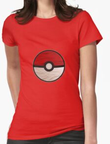 Pokeball vs Pokemon Womens Fitted T-Shirt