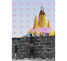 Charlie and the candy mountain. Photographic Print