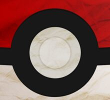 Pokeball vs Pokemon Sticker