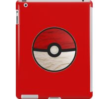Pokeball vs Pokemon iPad Case/Skin