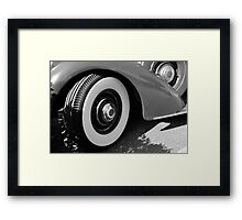 1939 Lincoln automobile Framed Print