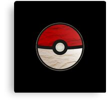 Pokeball vs Pokemon Canvas Print