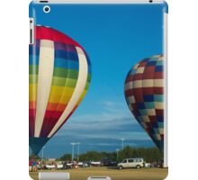 Two Balloons and The Moon iPad Case/Skin