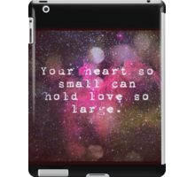 Love Quote iPad Case/Skin