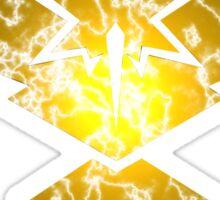 Team Instinct- Lightning Logo Sticker