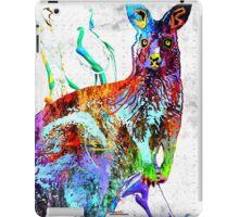 Kangaroo Grunge iPad Case/Skin