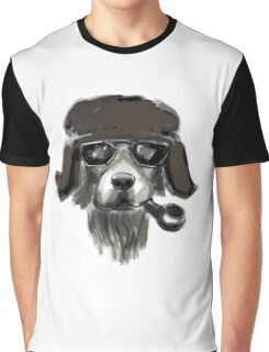 Dog with glasses Graphic T-Shirt