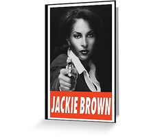 (MOVIES) Jackie Brown Greeting Card