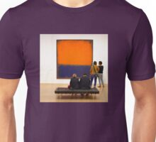 PEOPLE AT AN EXHIBITION Unisex T-Shirt